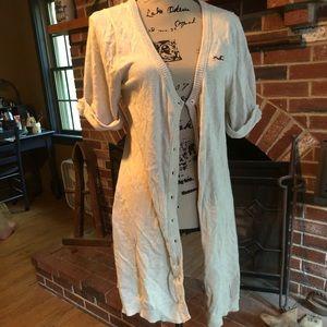 Hollister long cardigan
